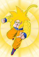 Super Saiyan God by EliteSaiyanWarrior