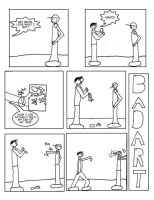 BADART Comic 8: Now With Hands by lrft4san