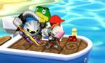 My Mii Fighter and Meta Knight by SuperMarioMaster170