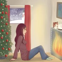 Not everyone has a Merry Christmas... by Anolee