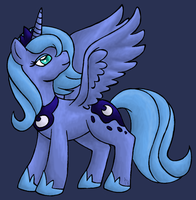 Princess Luna by Nobara-theWildRose