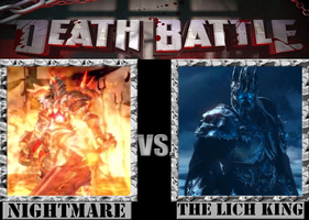 Nightmare VS. The Lich King by Grimmjow-thesexta