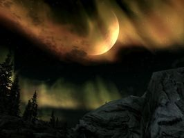 SKYRIM: I fking love this Aurora by BobOfTibia