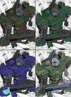 GeeTwo Megatron's Wardrobe 2 by hansime