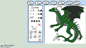 Create-A-Dragon 3 Submission by PsykotikDragon