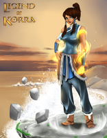 The Legend of Korra by AnimeFreak-Denise
