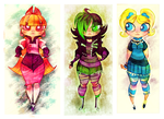 Powerpuff Girls Doodledump-11 by Busterella