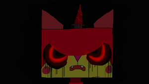 Evil evil evil Unikitty by 4ellyK