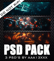 [PSD Pack] 3 Glow Tags by aaa13xxx