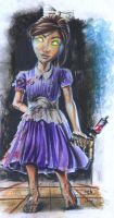 Bioshock - Little Sister by ISignRob
