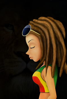 Rasta girl by MetzaYaku