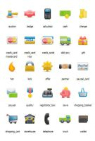Exclusive Free eCommerce Icons by vesperTiLo