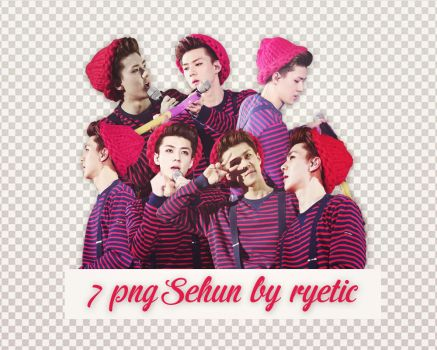7 png Sehun by ryetic by Ryetic