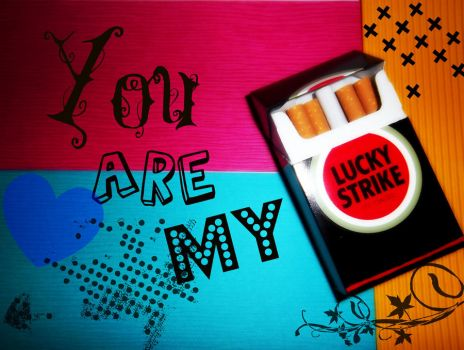 You Are My Lucky Strike by new-memories