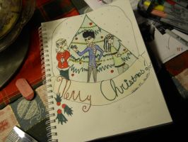 preview of christmas drawing by AliciaMDrawing
