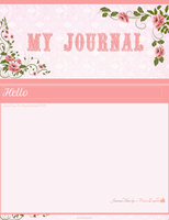 Rose Journal skin by MoonZaphire