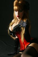 Tanit-Isis Red Burlesque V by tanit-isis-stock