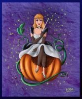 CINDERELLA IN HALLOWEEN by FERNL