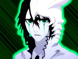 Ulquiorra green with envy by andrewbankai