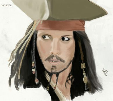 Jack Sparrow by Sassi666