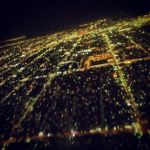 City grid lights by ifeoma