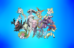 Pokemon Event Group by agakikama