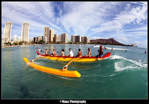 Welcome To Waikiki by manaphoto