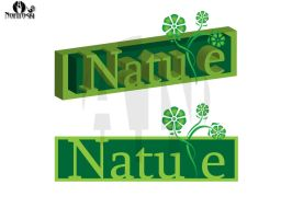 nature logo by AleksandarN