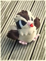 Pidgey - Happy Birthday Plushie 2012 by Plushbox