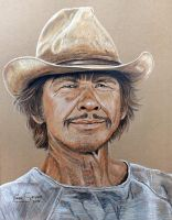 Charles Bronson...Commission by Artsy50