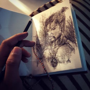 Sketching diaries by Abhinav-g