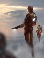 Iron Man by DeerandFox