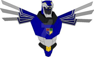 Voltron Force Blue Center by THUNDERWOLFX13