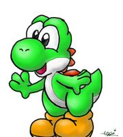 It's a Yoshi by Foxeaf