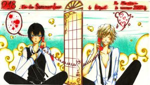 Fanart KHR D18-Summer Love by Yoki-fox-C