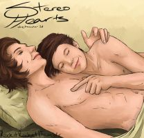Larry - Stereo Hearts 2 by Laurir
