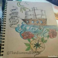 Nautical Piece Complete by ThediamondheART