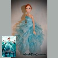 America Singer handcrafted doll (The Select cover) by NightFuryTail
