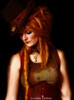 The Mad Hatter Miss by LOURDES-LAVEAU