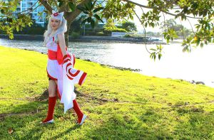 Okami Cosplay 2 by Melancholy-Feline