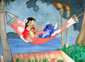 Lilo and Stitch by angelcondom