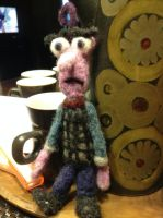 Needle Felted Fear by 0rcinus