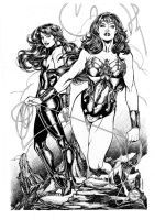 Wonder Woman Donna Troy by ericvondorfhen