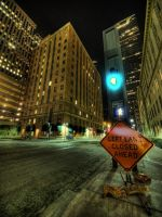 Downtown Dallas II by kubica