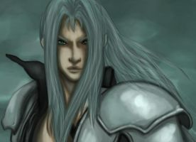 My Beloved Advent Sephiroth by Puukocho