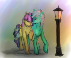 A Lovely Evening Together by Cyclone-Dusk