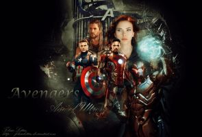 Avengers: age of Ultron by FelisiaLettise