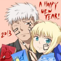 New Year by yuemaru