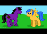 My Little Ponies by Draquus