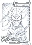 FREE Spider-man Sketch by Carl-Riley-Art